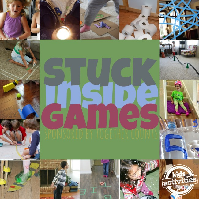 Stuck Inside Games - Together Counts - Kids Activities Blog