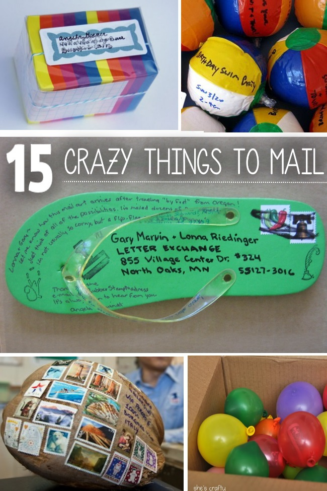 13 Things You Never Thought You Could Mail