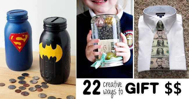 22 Creative Money Gift Ideas Kids Activities Blog