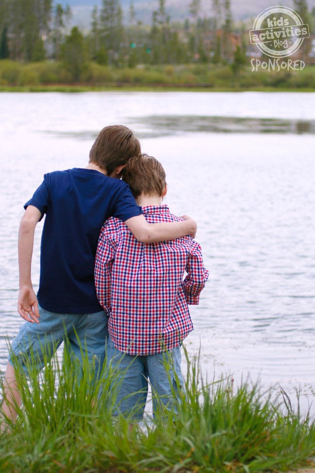 At the lake - Kids Activities Blog