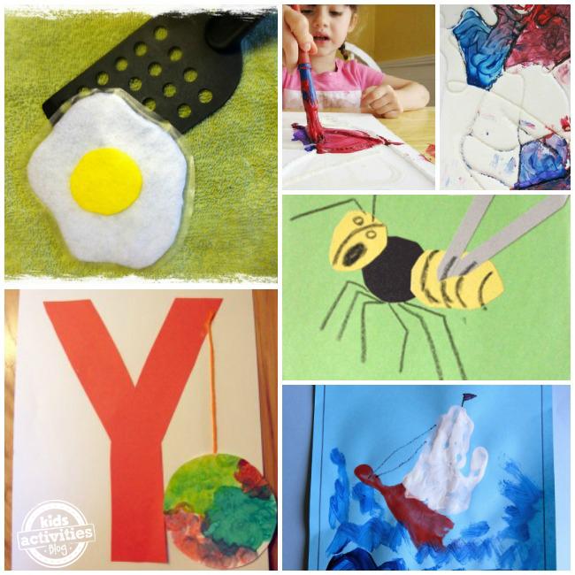 Preschool Letter Y Activities