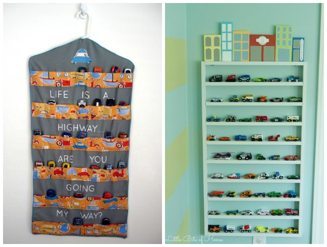15 Clever Toy Car Storage Ideas