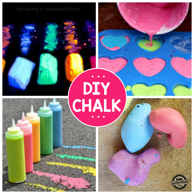 13 Ways To Make DIY Chalk