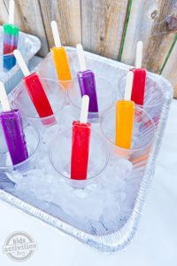 Summer Party Popsicle Bar
