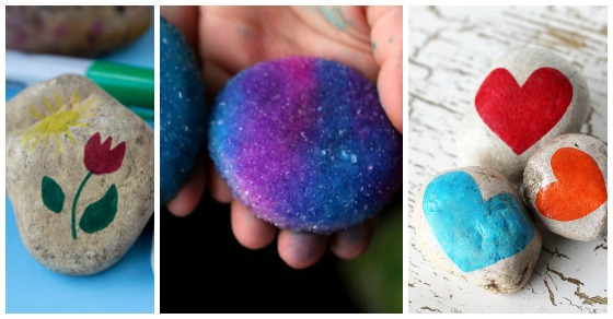 20 Crazy Fun Rock Decorating Ideas for Kids on Rock Decorating Ideas  id=46967