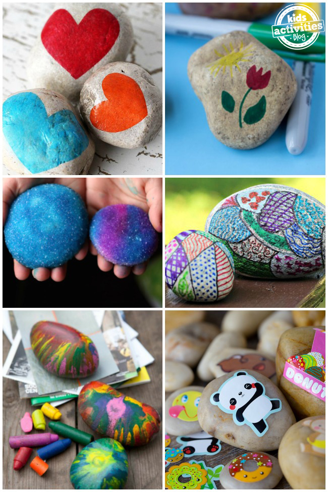20 Crazy Fun Rock Decorating Ideas for Kids on Rock Decorating Ideas  id=33025