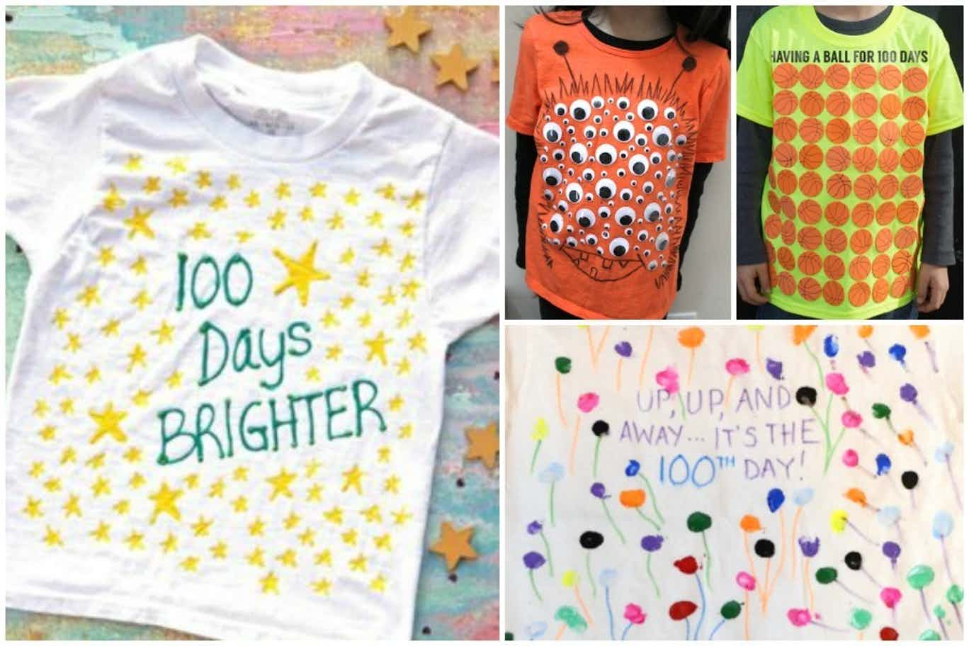100th Day Of School Shirt Ideas
