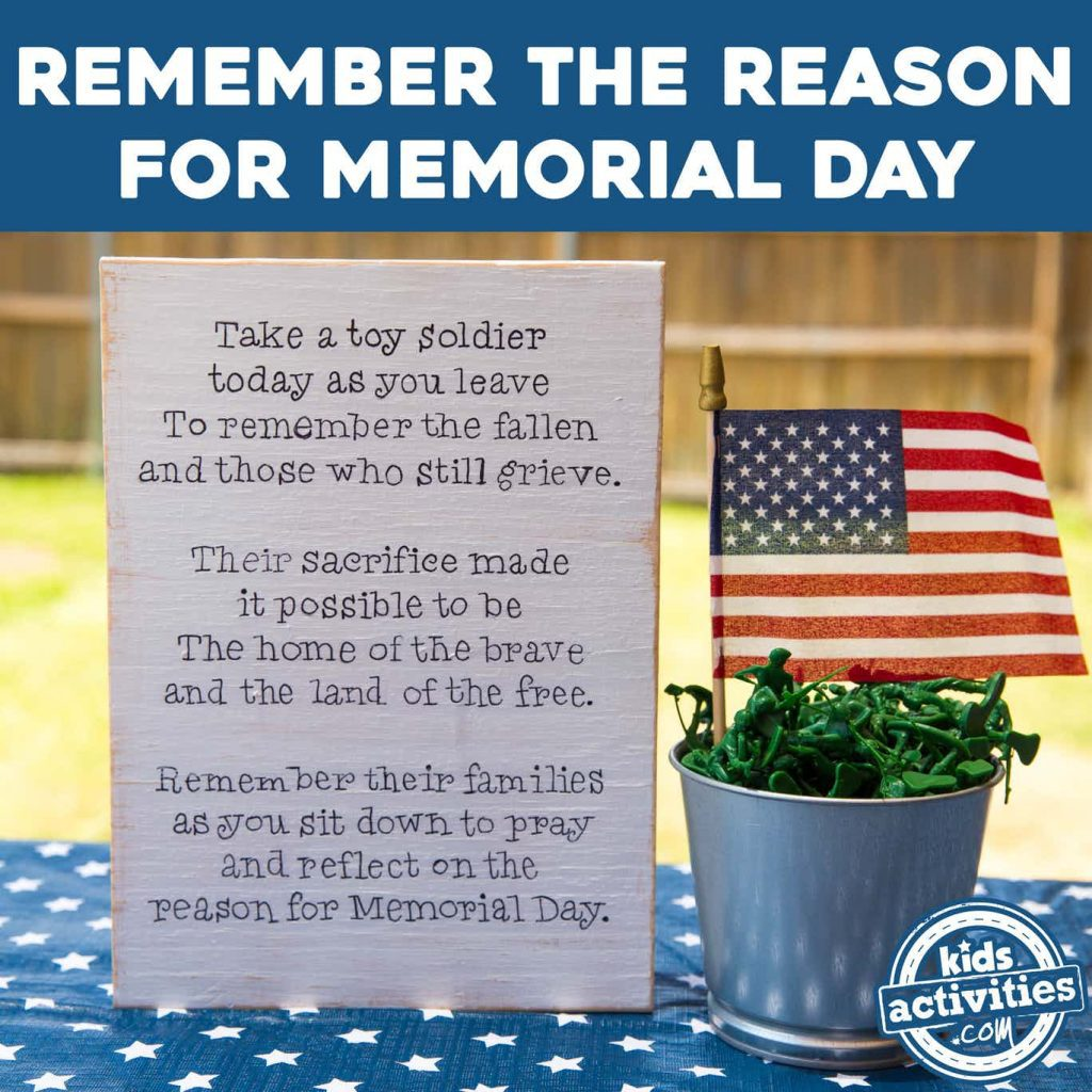 Memorial Day Patriotic Farmhouse Sign