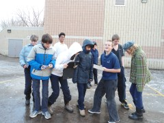 KARS students testing EcoTraction