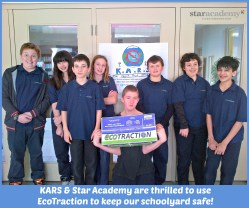 Star Academy & KARS used EcoTraction at school