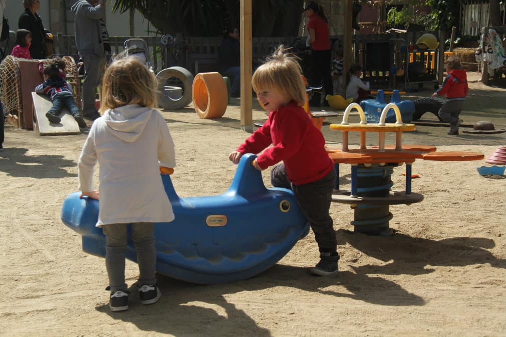 Park Ciutadella - plac zabaw Ludoteca