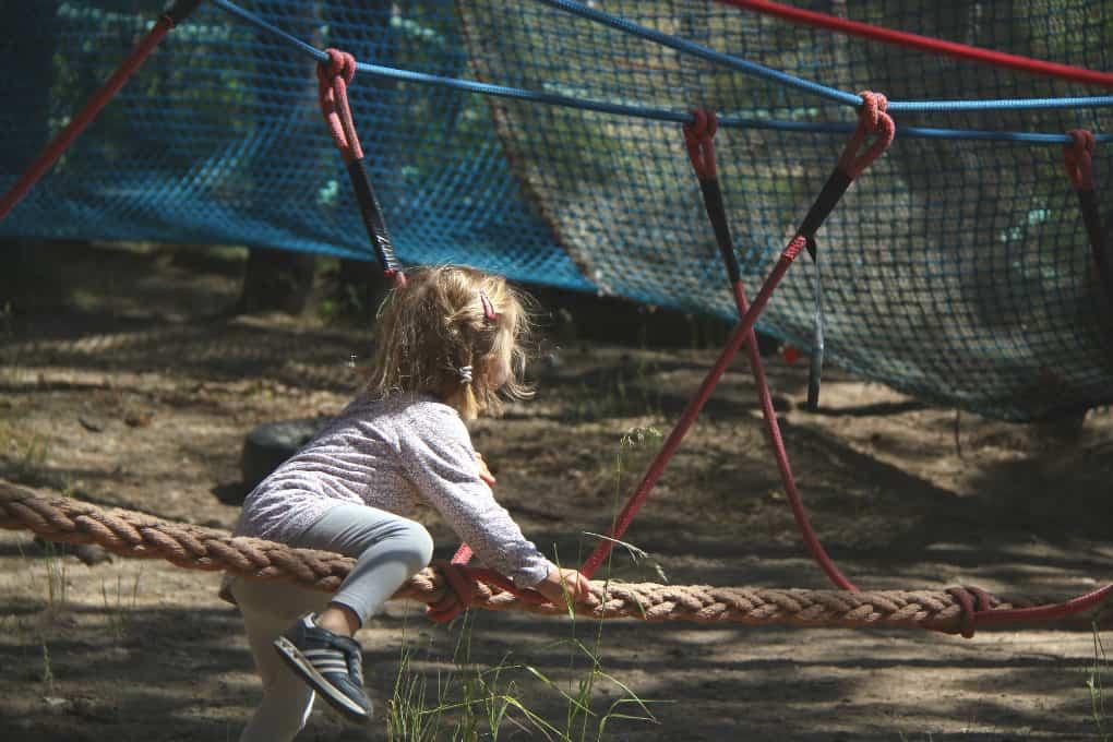 Mini Park Linowy Adventure Park Gdynia Kolibki