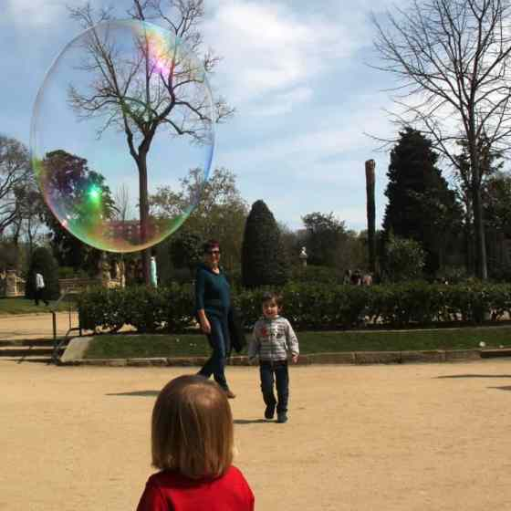 Barcelona z dziecmi