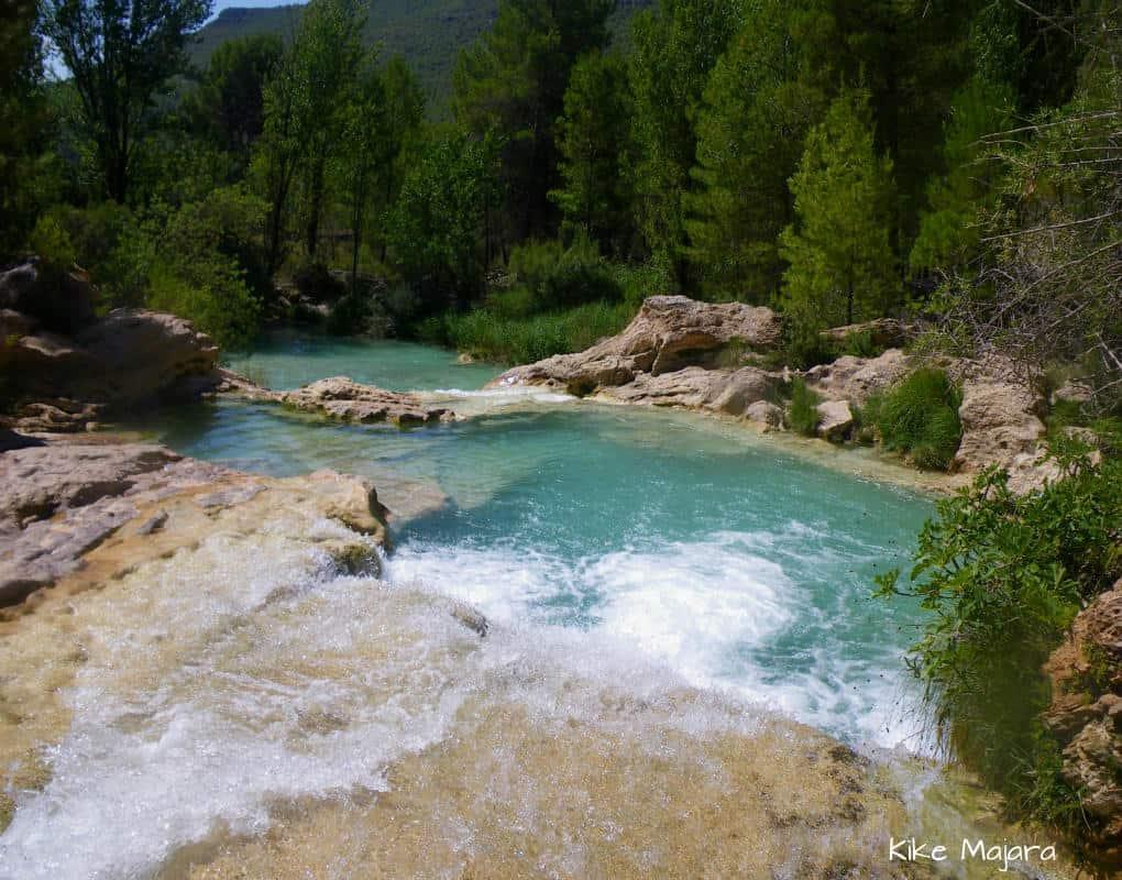 Las Chorreras - rzeka Cabriel