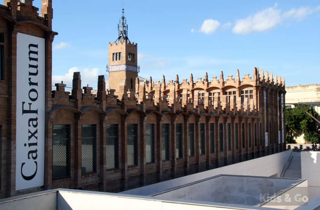 CaixaForum - Muzea Barcelony z dzieckiem