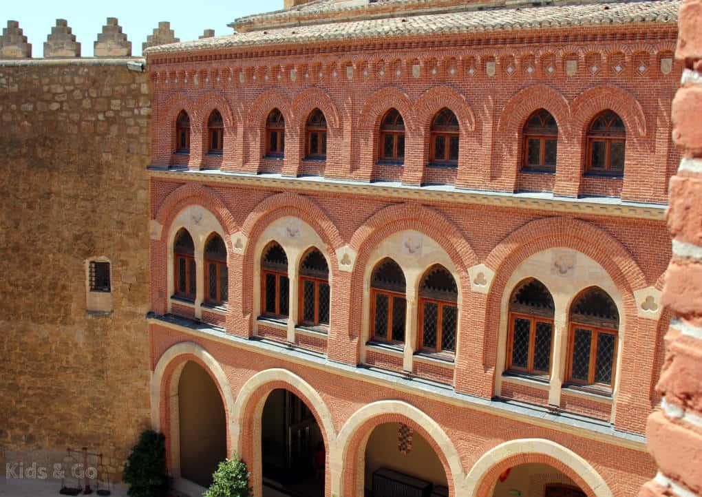La Mancha z dziecmi - zamek w Belmonte