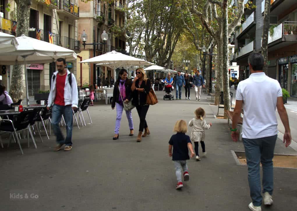 Spacer po Poblenou - Barcelona z dziecmi