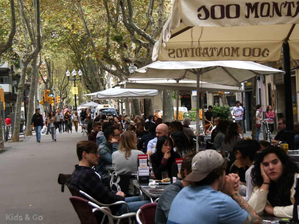 Barcelona - restaurac