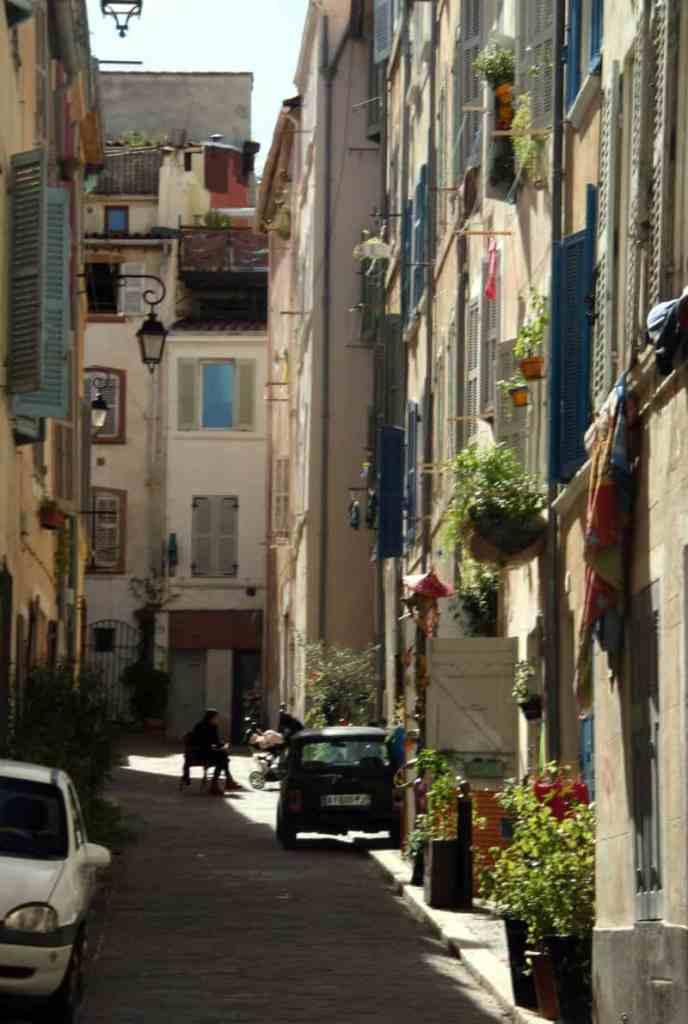 zwiedzanie Marsylii - le Panier