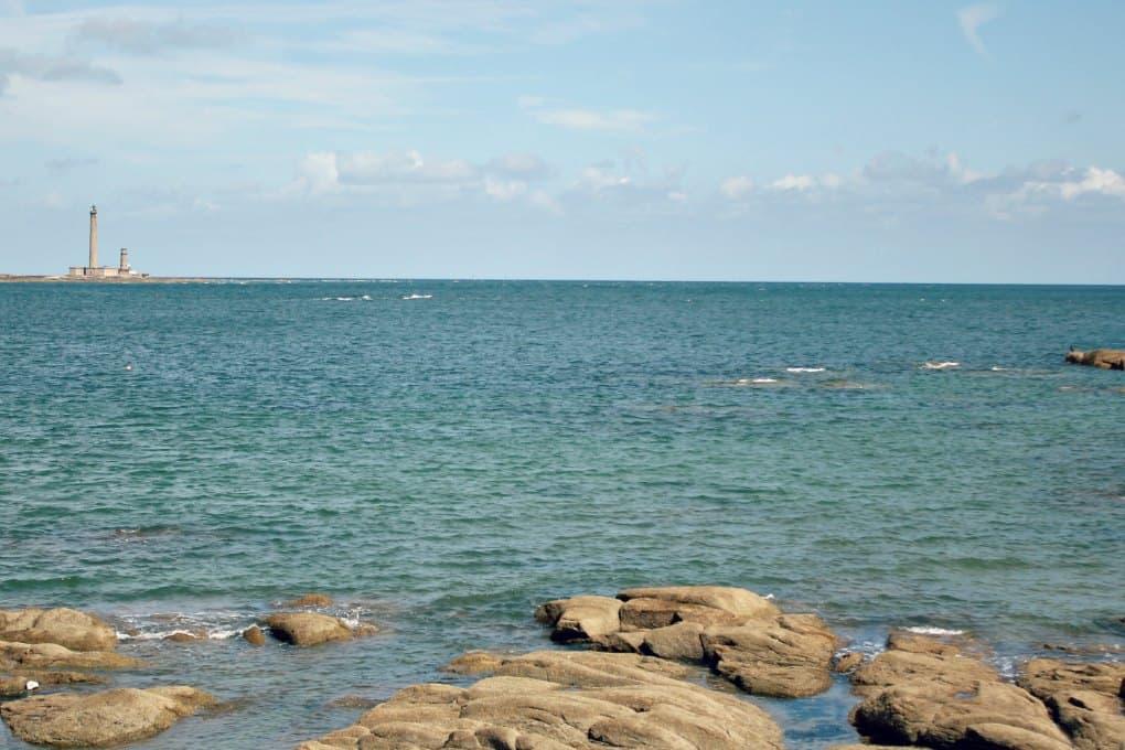 Normandia latarnia morska