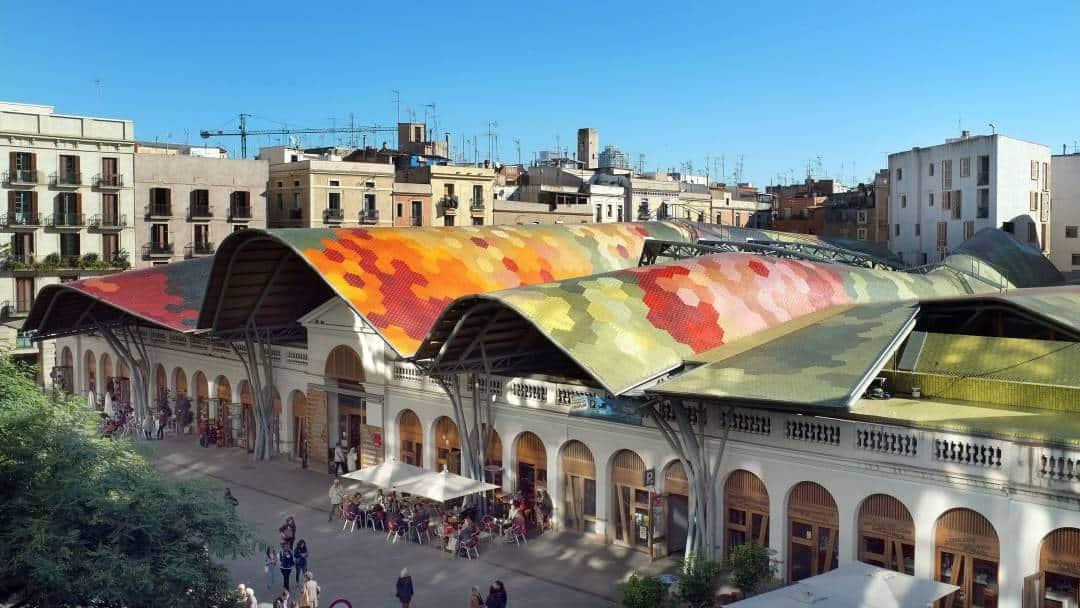 Barcelona ciekawe miejsca - Mercat de Santa Caterina