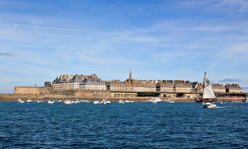 Widok na saint Malo