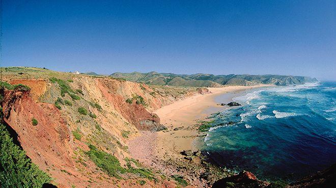 Wakacje w Portugalii - Praia do Amado