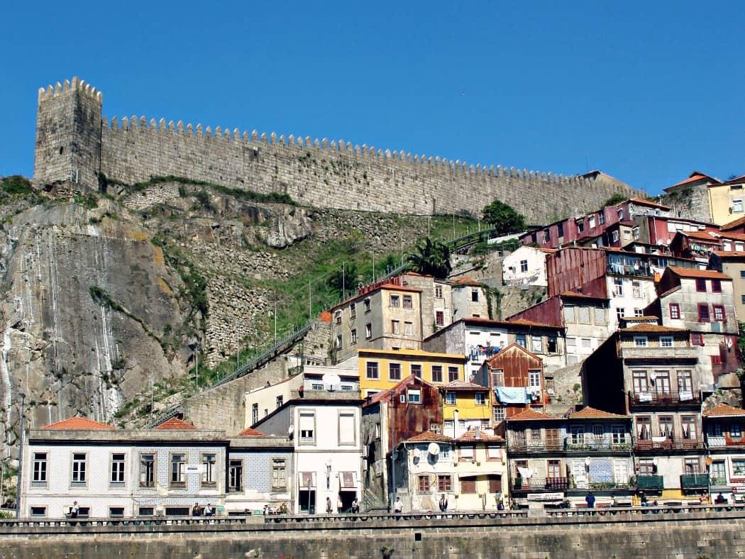 Zwiedzanie Porto - Mury