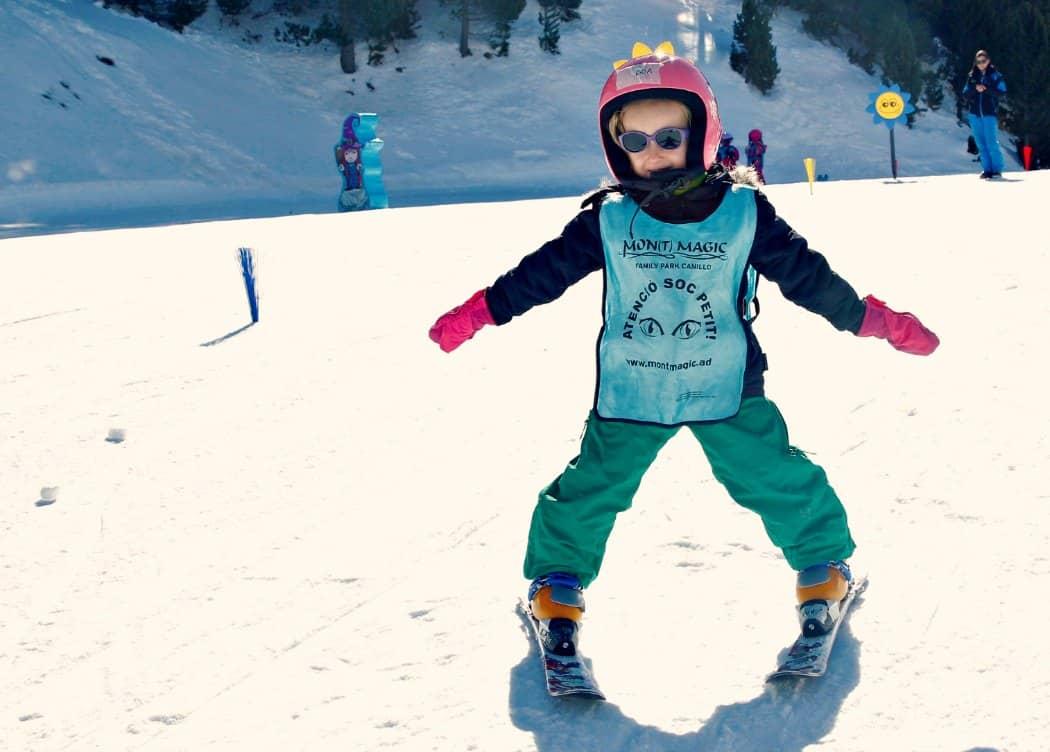 Andora narty z dziećmi - Narty z czterolatkiem