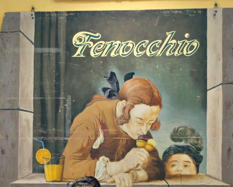 Lody Fenocchio w Nicei