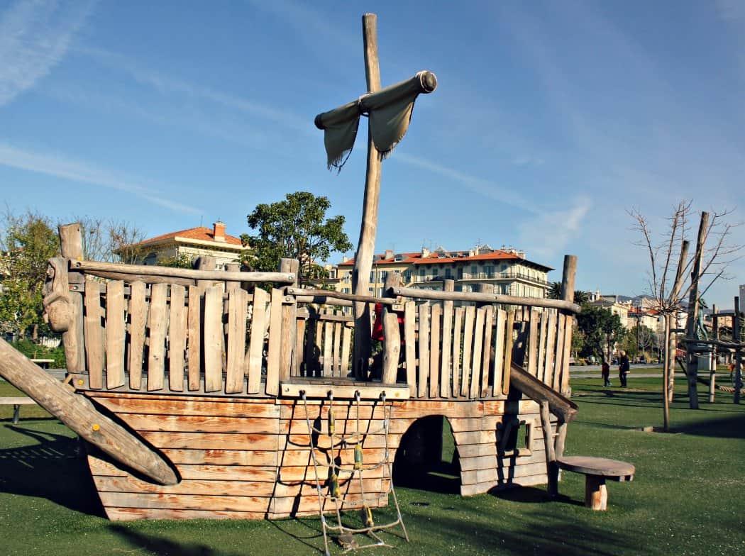 Plac zabaw w Nicei