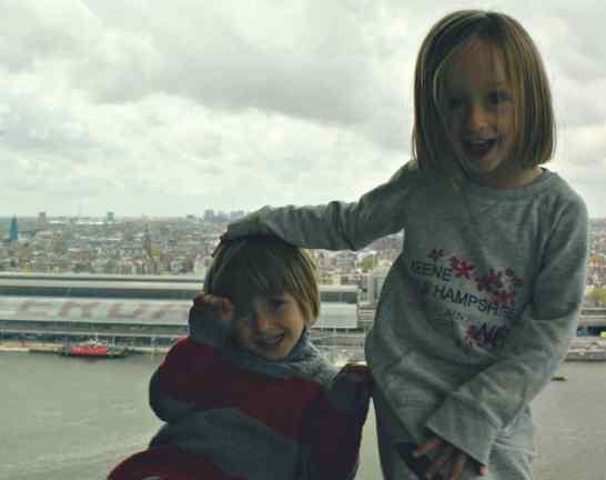 Amsterdam z dziecmi