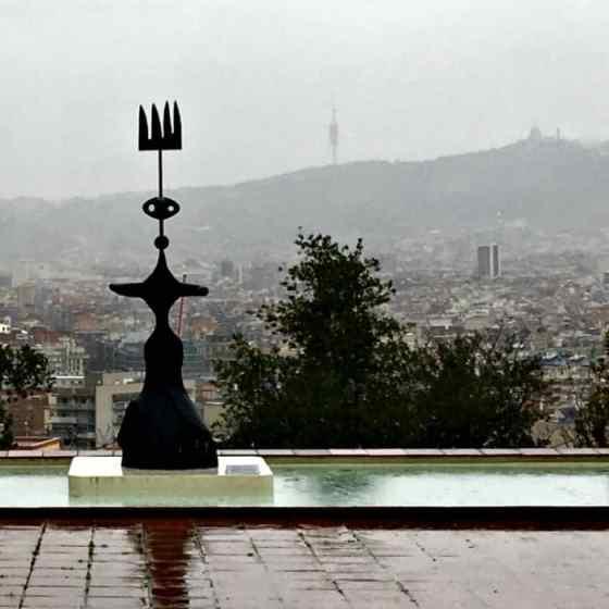 Deszczowa Barcelona