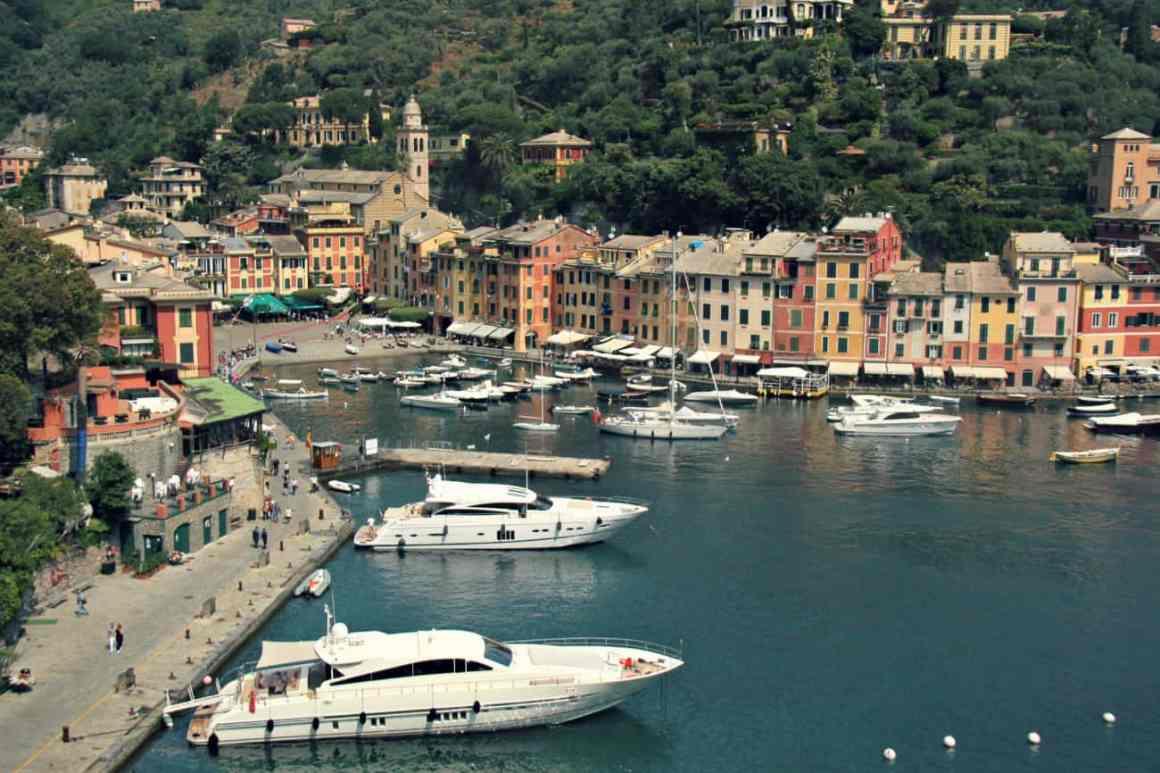 Włochy z dzieckiem - Portofino
