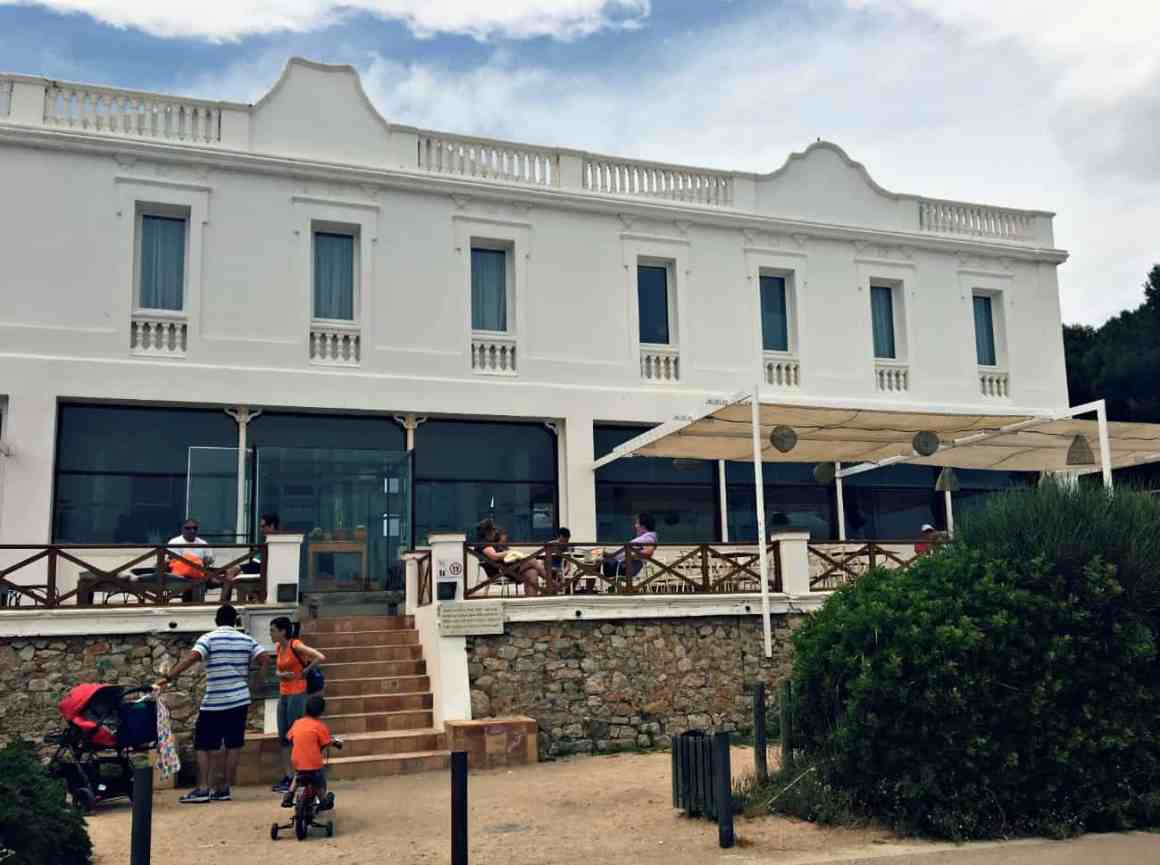 Noclegi na Costa Brava - hotel przy plaży