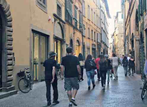 Lucca - Toskania z dzieckiem