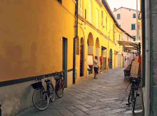 Lucca spacerkiem