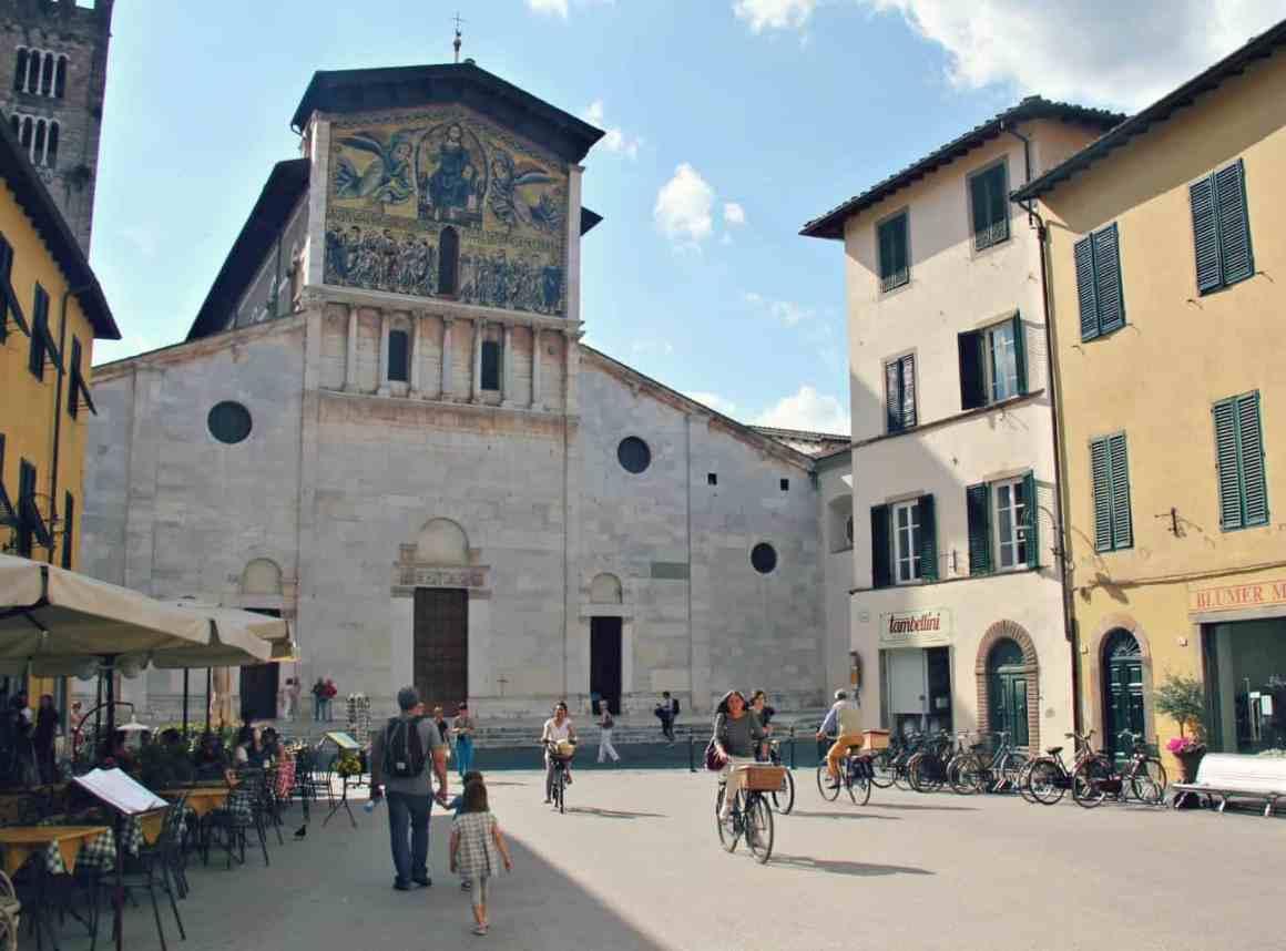 Lucca z dziećmi