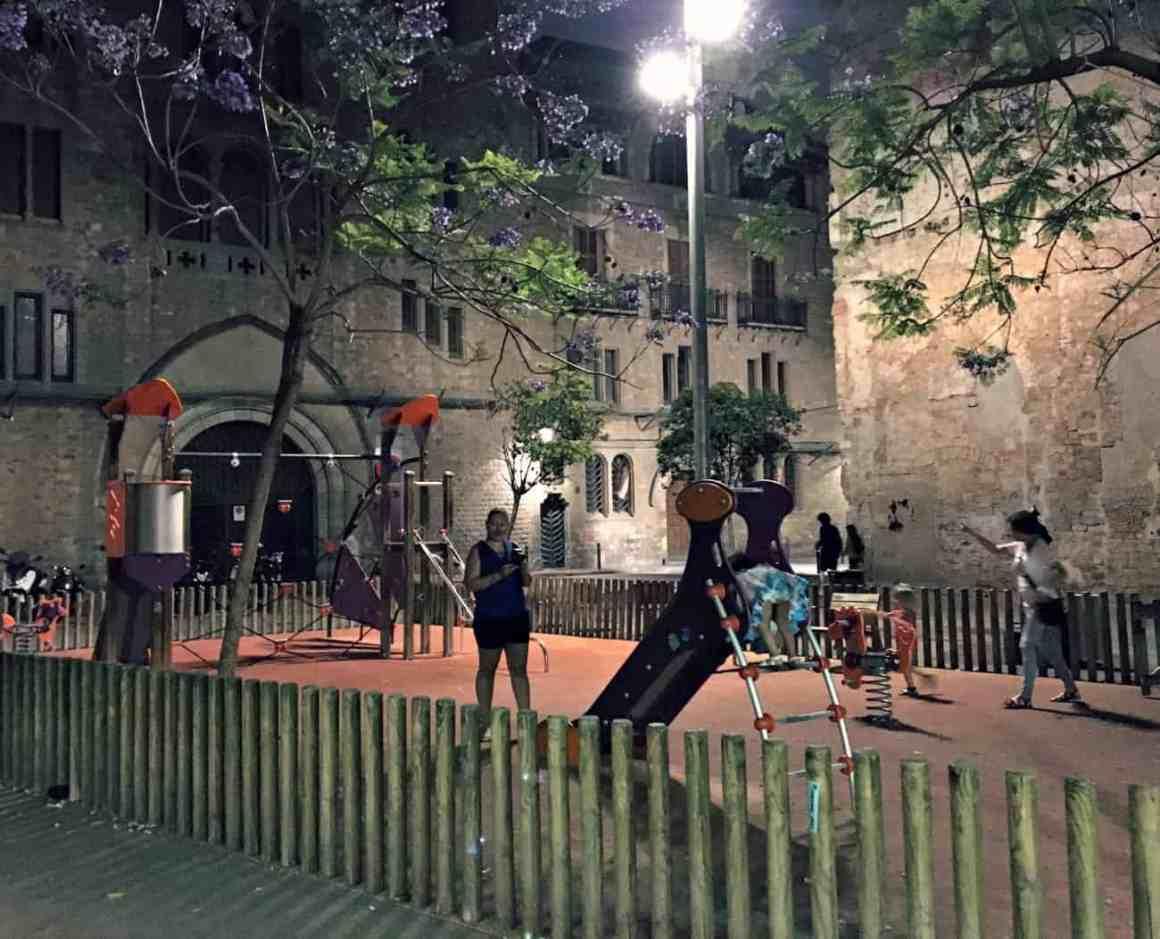 Barri Gotic w Barcelonie
