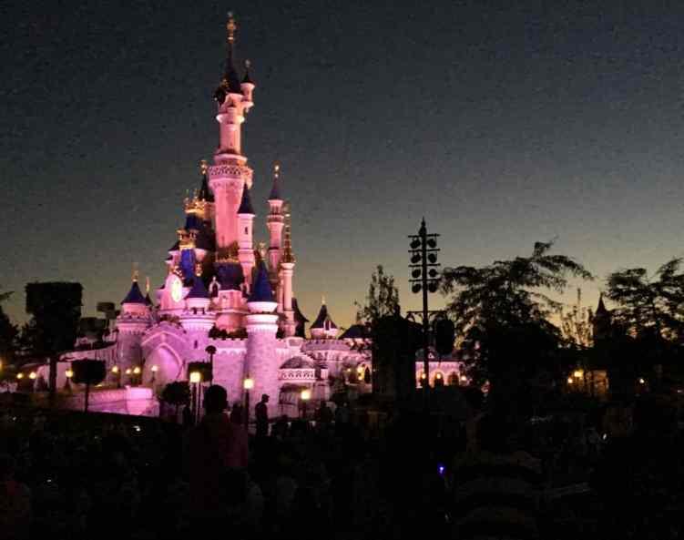 Pokaz sztucznych ogni - Disneyland