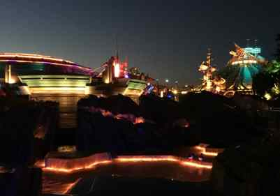 Wieczor w Disneyland Paris