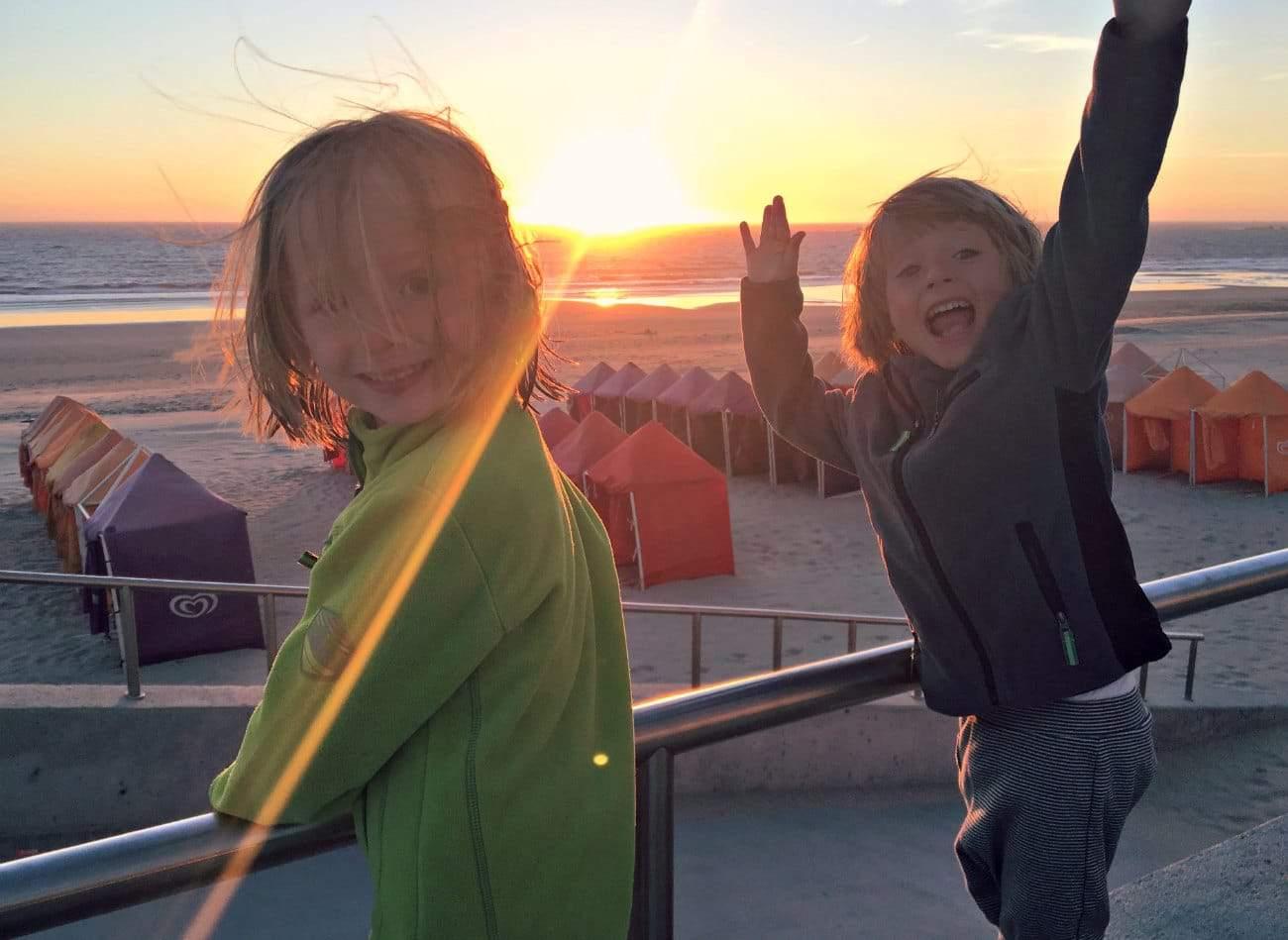 Wakacje z czterolatkiem nad Oceanem