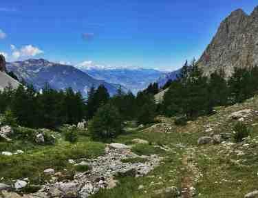 Alpy Francuskie latem