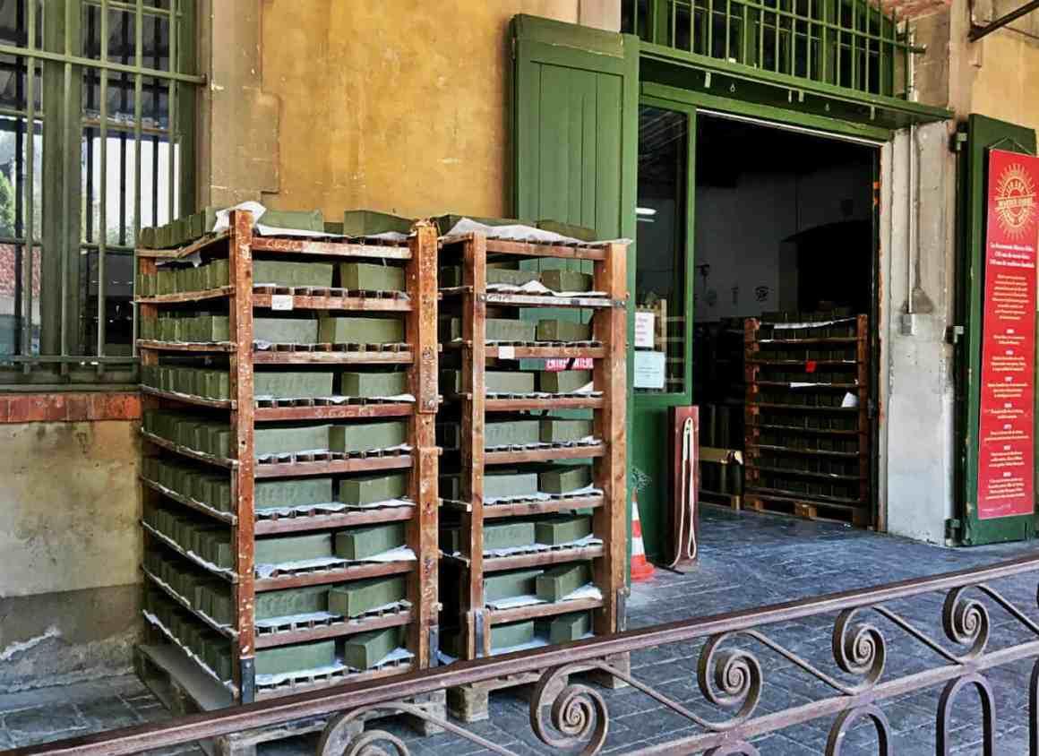 Prowansja co warto zobaczyć - Salon de Provence- fabryka mydła