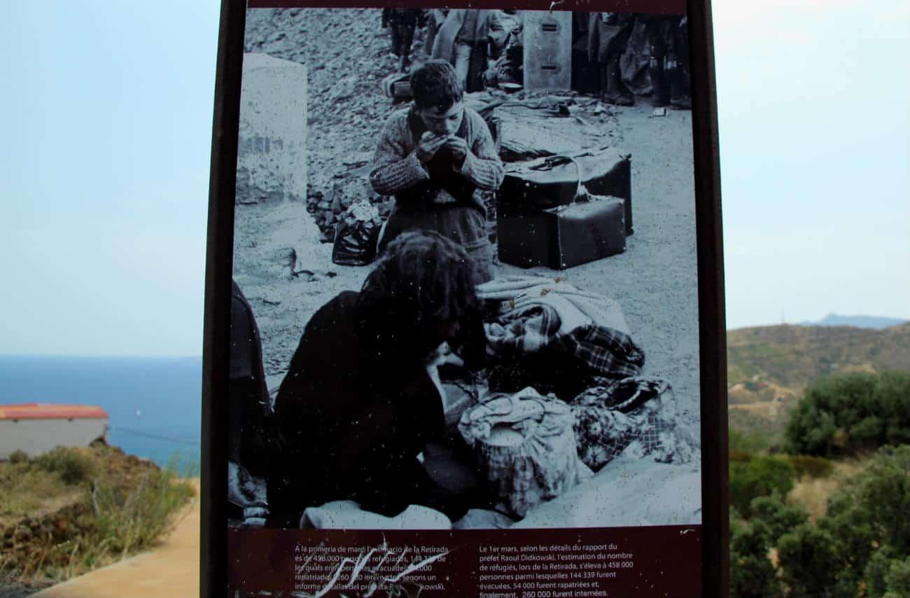 Południowa Francja - granica z Katalonią