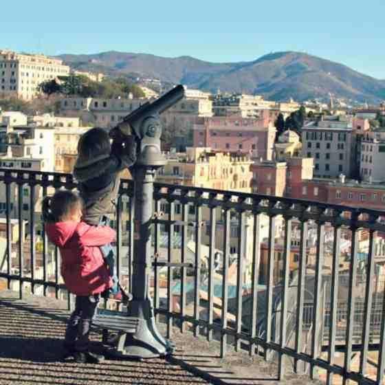 Zwiedzanie Genui z dzieckiem