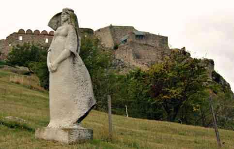 Bratysława - zamek Devin