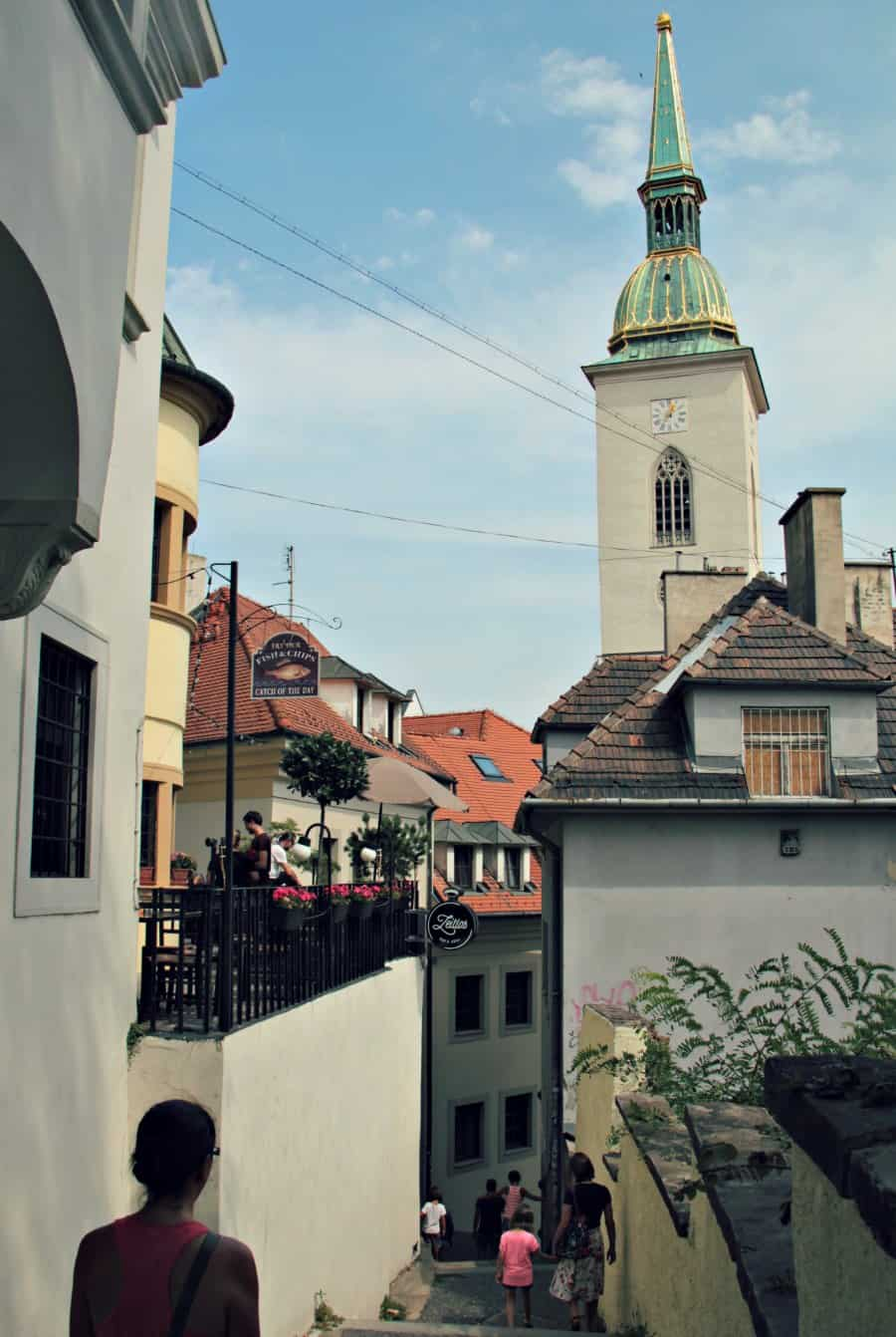 Spacery po Bratysławie