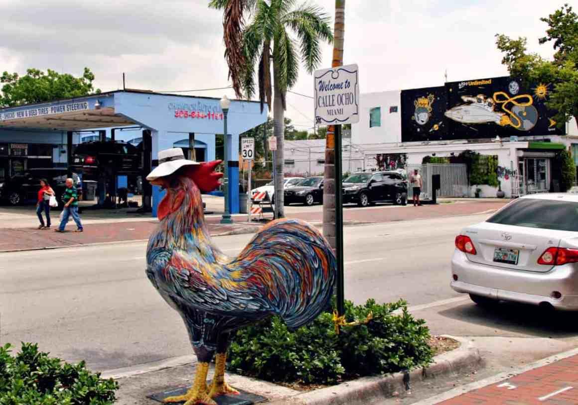 Zwiedzanie Miami - Mała Havana