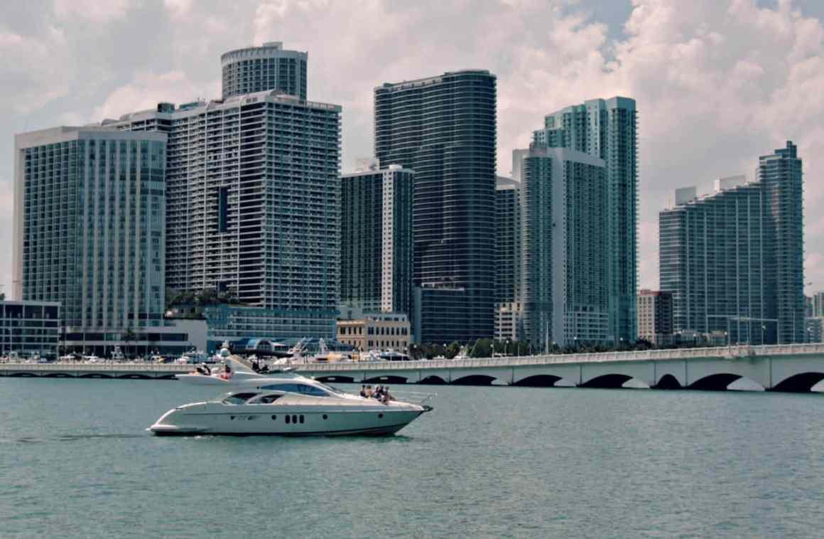 rejs statkiem w Miami